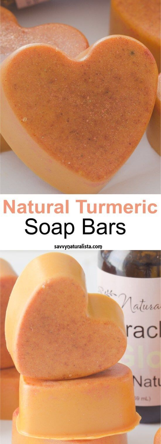 DIY natural/ organic Turmeric Soap Bars. Natural diy, skincare, beauty tips, skincare tips and trick, beauty tricks. http://www.ebay.com/itm/Curcumin-Blend-60-Count-/322482882728
