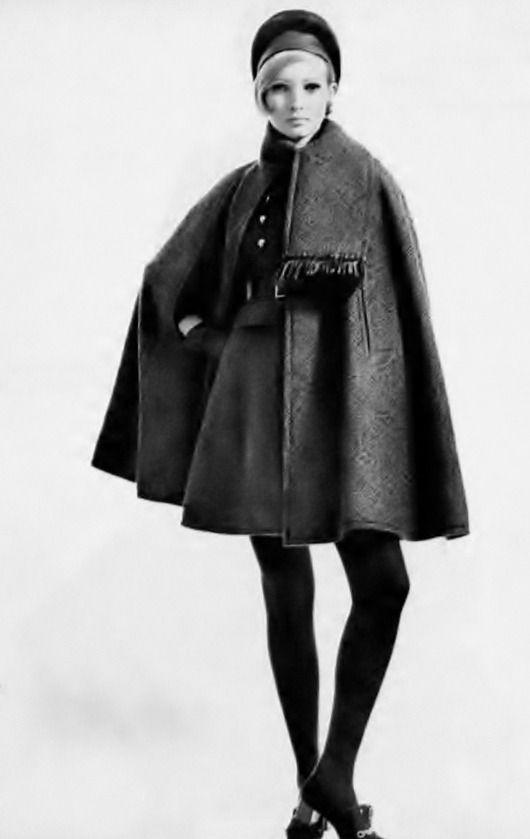 1967 - Yves Saint Laurent cape