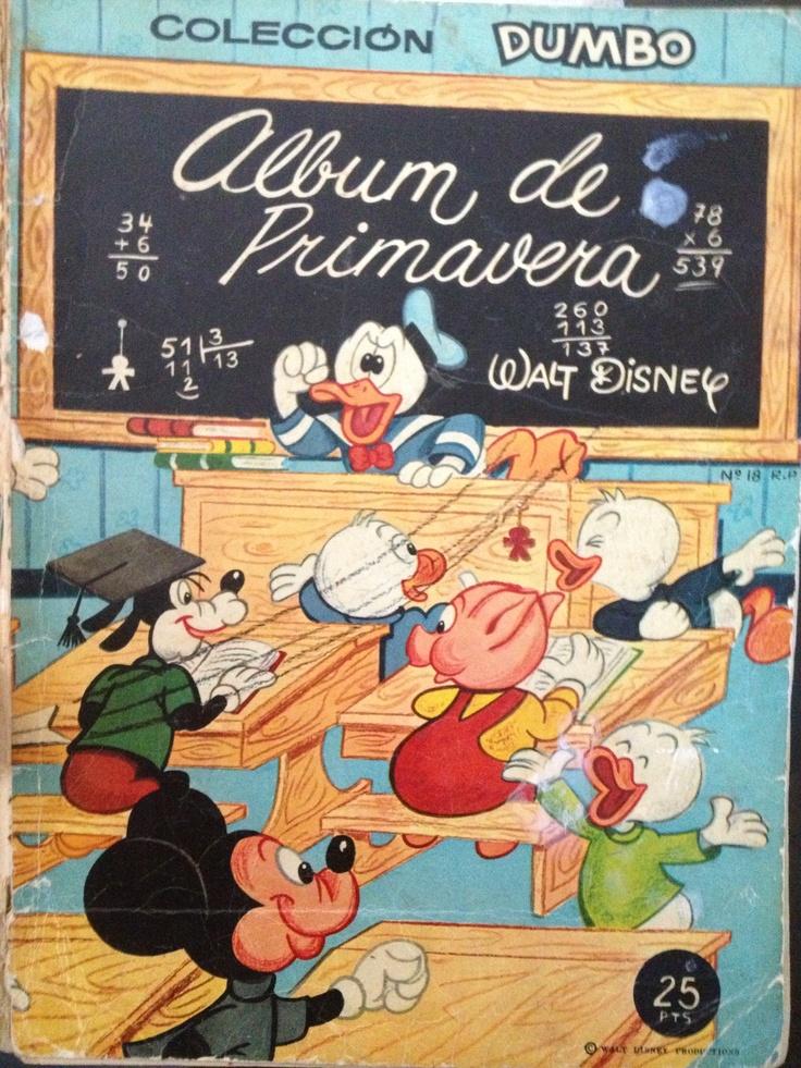 """Ediciones Recreativas S.A. publicó una """"Colección Dumbo 1ª Época"""", de 527…"""