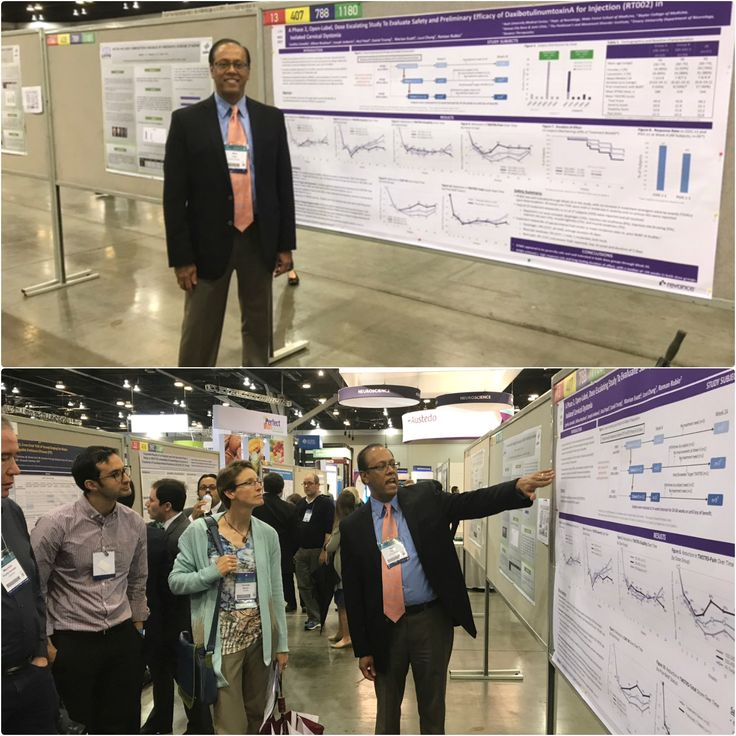 Dr. Patel was at an international meeting in Vancouver Canada earlier this week. He was presenting this late breaking abstract on a new botulinum toxin that lasts for a longer time.