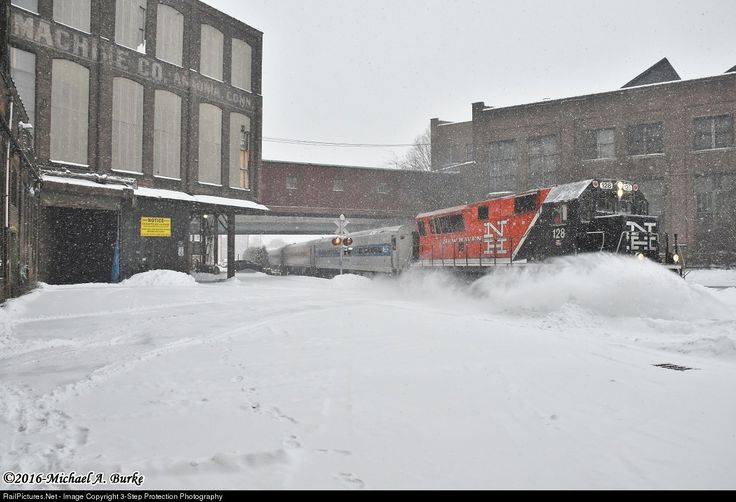 RailPictures.Net Photo: CDOT 128 Metro-North Railroad Brookville BL20GH at Ansonia, Connecticut by 3-Step Protection Photography