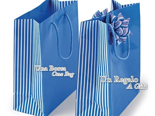 adhesive closing bag - patented by brizzolari -