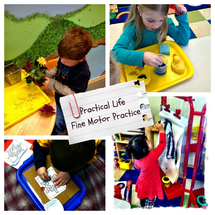 227 best images about montessori practical life fine for Motor development in children