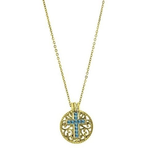 1928 Birthstone Cross Pendant Necklace -December Blue Topaz 1928, http://www.amazon.com/dp/B006570YDU/ref=cm_sw_r_pi_dp_RBsNqb12SWJAE: Pendant Necklace, Birthstones Crosses, 1928 Birthstones, Crosses Necklaces, Gifts Ideas, Pendants Necklaces, Crosses Pendants, Gemstone Necklace, Cross Over