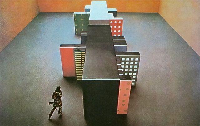 "Archizoom Associati  ""The Neutral Surface""  Habitable cupboard  1972 // MONDOBLOGO"
