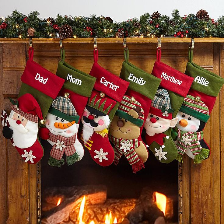 14 best Christmas stockings images on Pinterest | Christmas ...