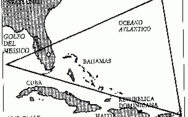 Misteri - Il triangolo delle Bermuda Generalmente menzionato come il Triangolo delle Bermuda, è il luogo dove più di 100 aeroplani e navi sono letteralmente svaniti nel nulla, in maggioranza dopo il 1945, e dove più di 1.000 vite sono a #sparizioni #triangolodellebermuda