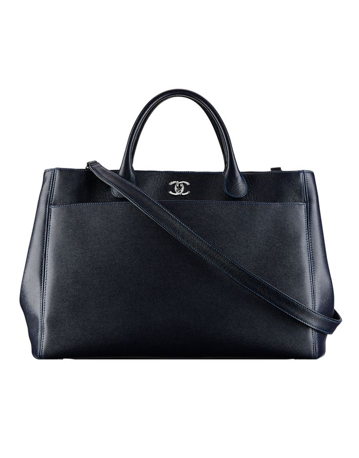Grand sac shopping Chanel, de rêve ! www.leasyluxe.com #shoppingbag #beautiful #leasyluxe