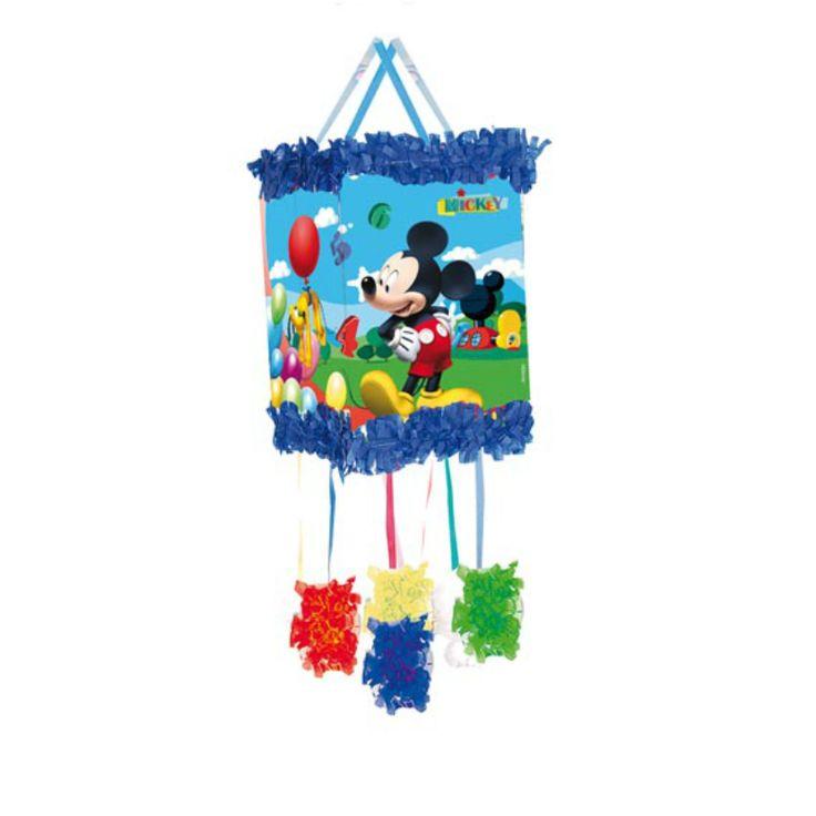 Piñata Viñeta Mickey Balloons #fiestacumpleaños #cumpleañosdisney #decoracioncumpleaños