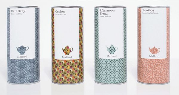 mallard tea #packaging