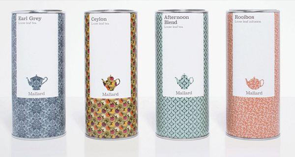 mallard tea #packaging