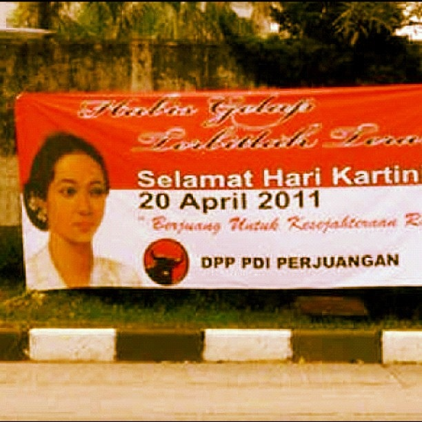 Wish for better political organisation #wishforjakarta #webstagram #kartiniday #indonesia #jakarta