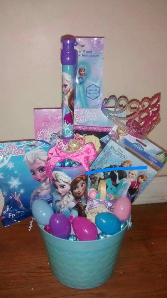 The 25 best frozen easter basket ideas on pinterest frozen gift a frozen easter basket negle Image collections