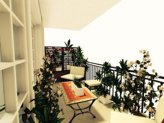3d floor plans - konstadina nastou decorator-Greece-http://kinteriorsblog.wordpress.com/ #floorplans #roomsketcher #balcony #plants #green #veranta
