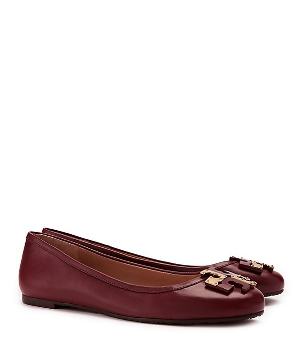 Tory Burch Lowell Flat - This should be the official 49er shoes.