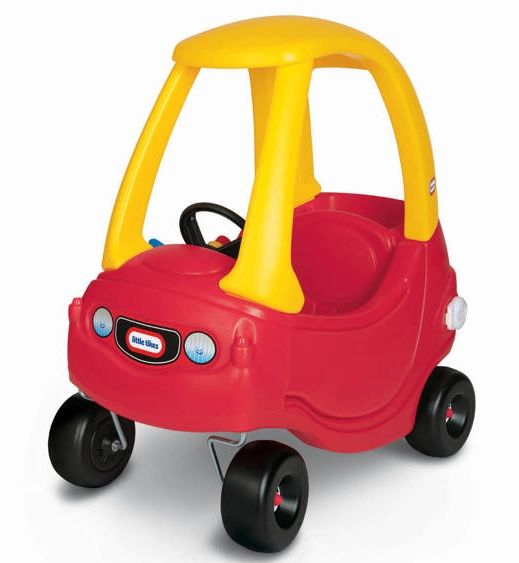 Toddler Toys Cars : The little tyke red and yellow car being a s baby