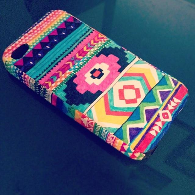 Aztec phone case