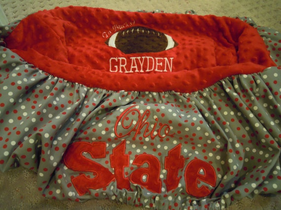 Ohio State Shopping Cart Cover by TWINSANDQUINN on Etsy, $55.00