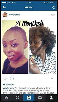 Hair growth in 21 months... Growing hair very fast, quick hair growth and make your own hair growth pills. http://www.shorthaircutsforblackwomen.com/black-hair-growth-pills/
