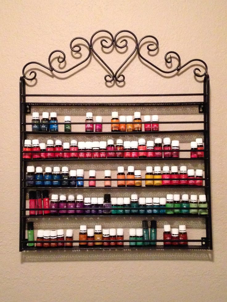 Essential Oil Display Rack Young Living Oil Pinterest