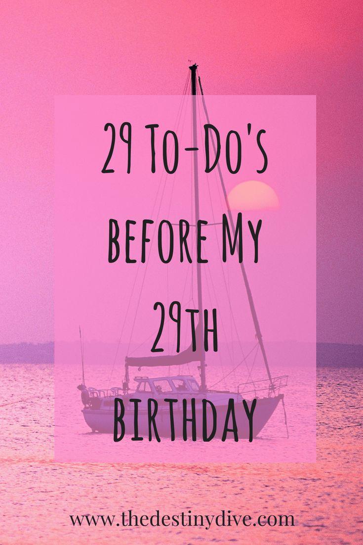 29th birthday ideas for him