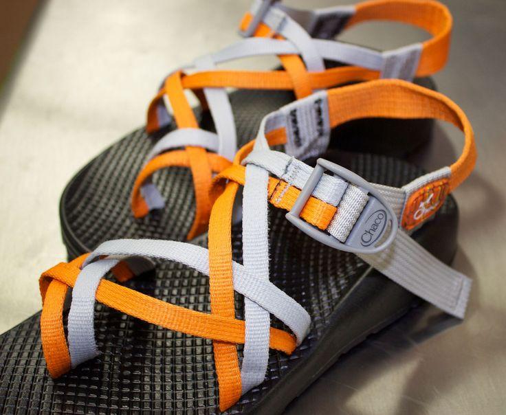Custom Chacos....UT orange.