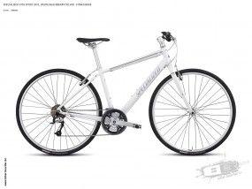 Vita Sport 2013, White/Blackberry/Silver - Fitnessbike