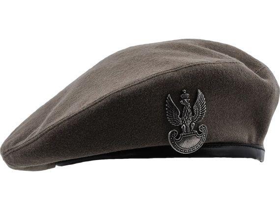 Sosabowski's Parachute Brigade Historical Replica, Military, Polish Army Beret - gray / khaki