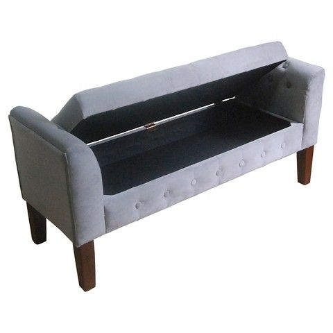 17 Best Images About Bedroom Ideas On Pinterest Ottomans Upholstered Storage Bench And