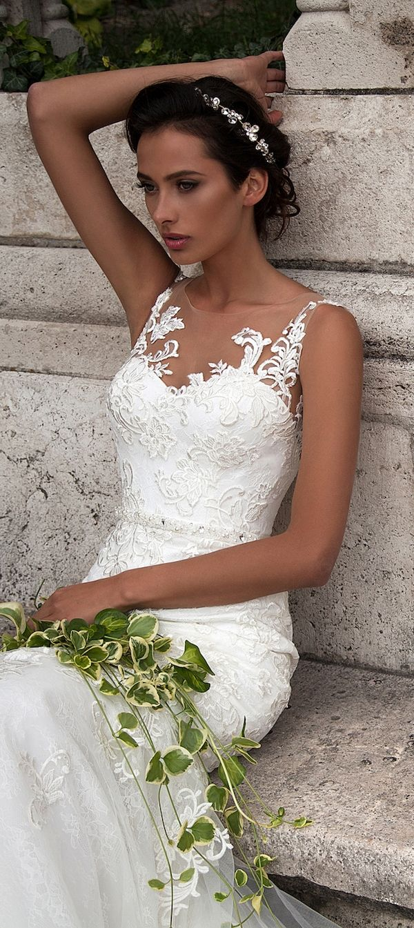 Milla Nova 2016 Wedding Dresses / http://www.deerpearlflowers.com/milla-nova-wedding-dresses/7/