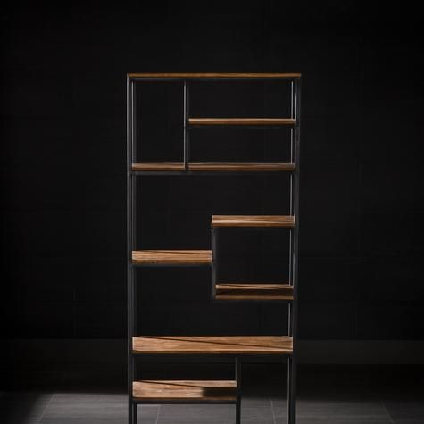 Cinta Bookcase With Seven Shelves Could this be a room divider between dining room and living room?
