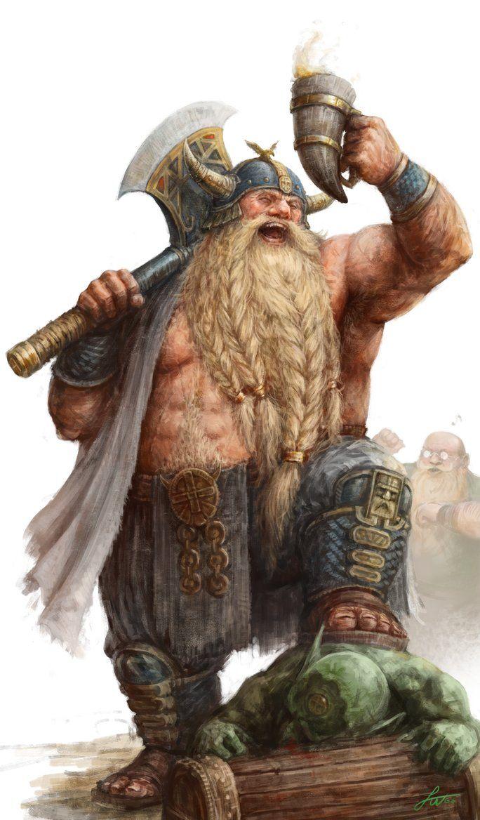 Dwarf Rodric (2017) by Taonavi.deviantart.com on @DeviantArt