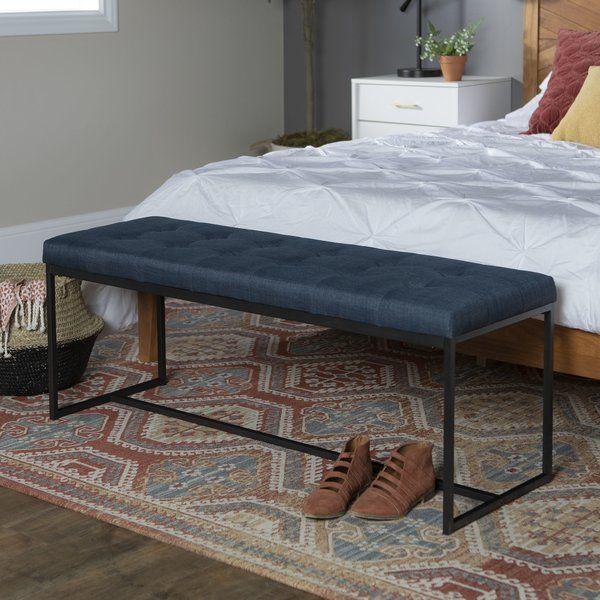 Zipcode Design Mardell 48 Upholstered Bench Reviews Wayfair Furniture Upholstered Storage Bench Upholstered Bench