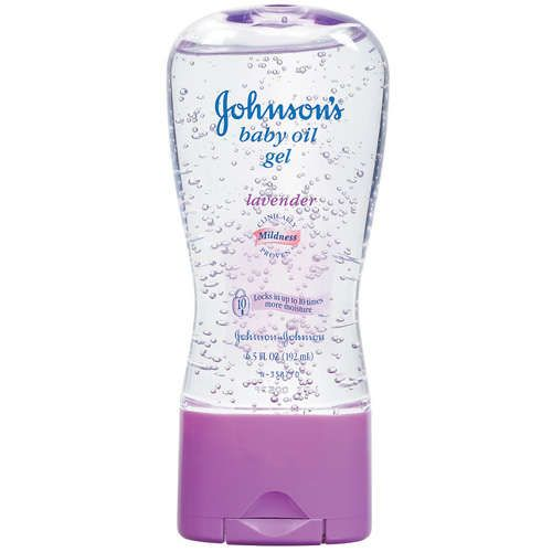 Greatest aftershave ever (for your legs). It doesn't hurt that I already use Johnson's Bedtime Bath and Lotion.