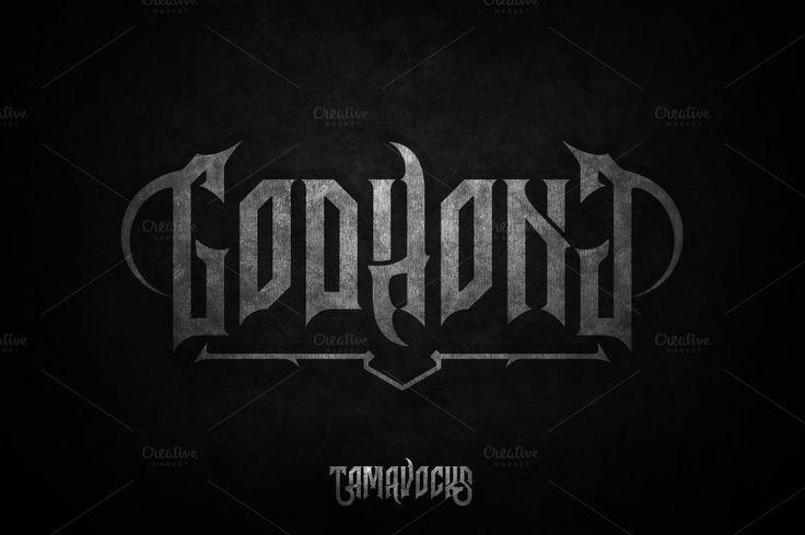Godhong Typeface + Extras by Tamavocks on @creativemarket