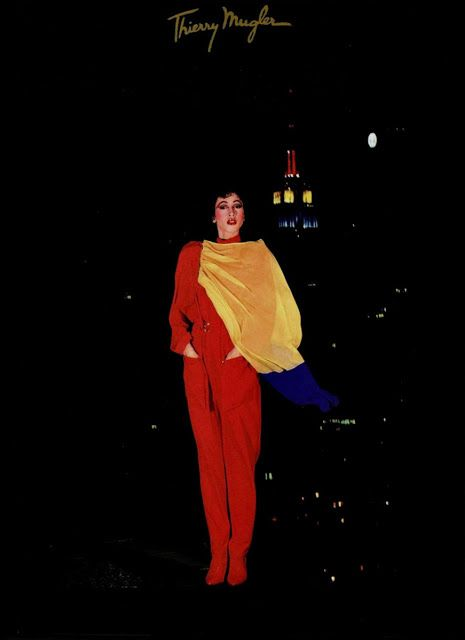 PAT CLEVELAND Thierry Mugler Ad 1980