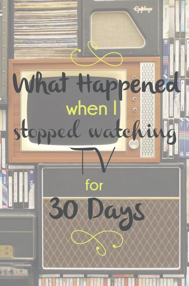 What Happened When I Stopped Watching TV for 30 Days - L Bee and the Money Tree