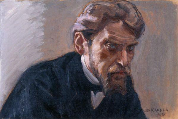 """""""Portrait of Robert Kajanus"""" (1906) by Akseli Gallen-Kallela"""