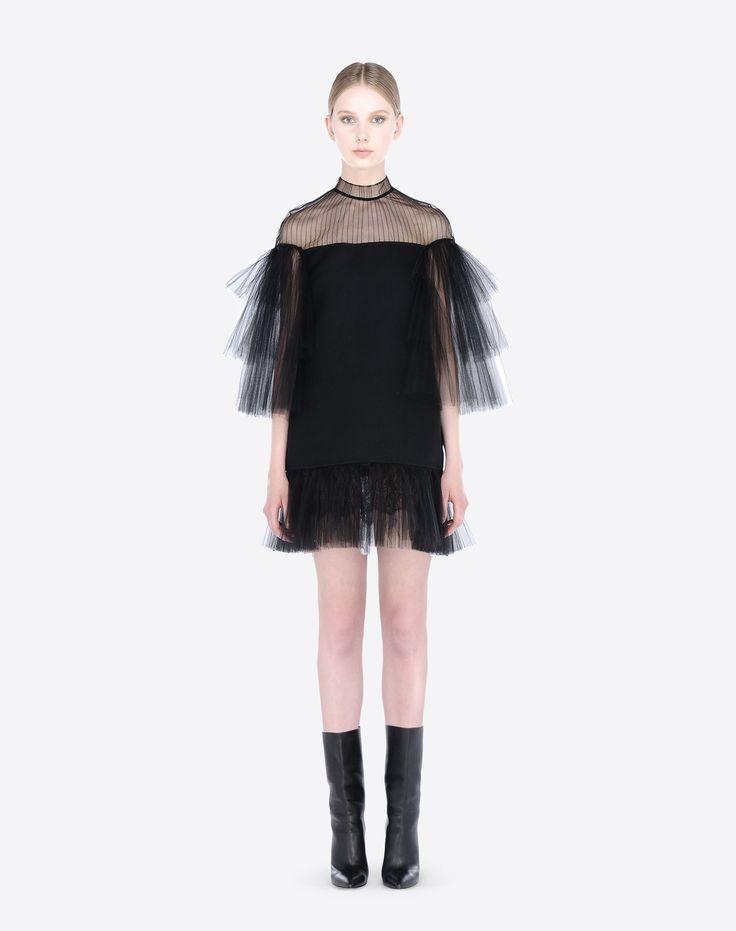 Valentino - Robe Courte Plissée Femme Valentino
