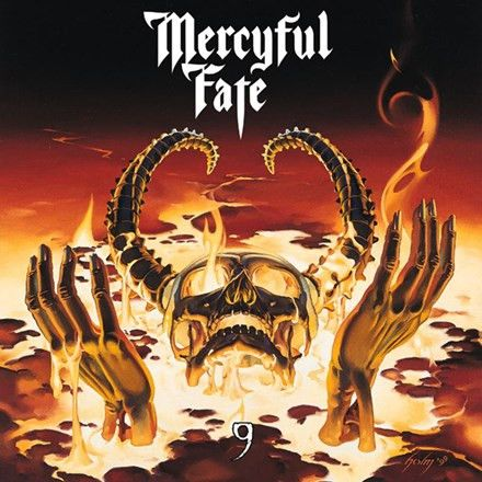 Mercyful Fate - 9 Limited Edition Colored Vinyl LP October 28 2016 Pre-order