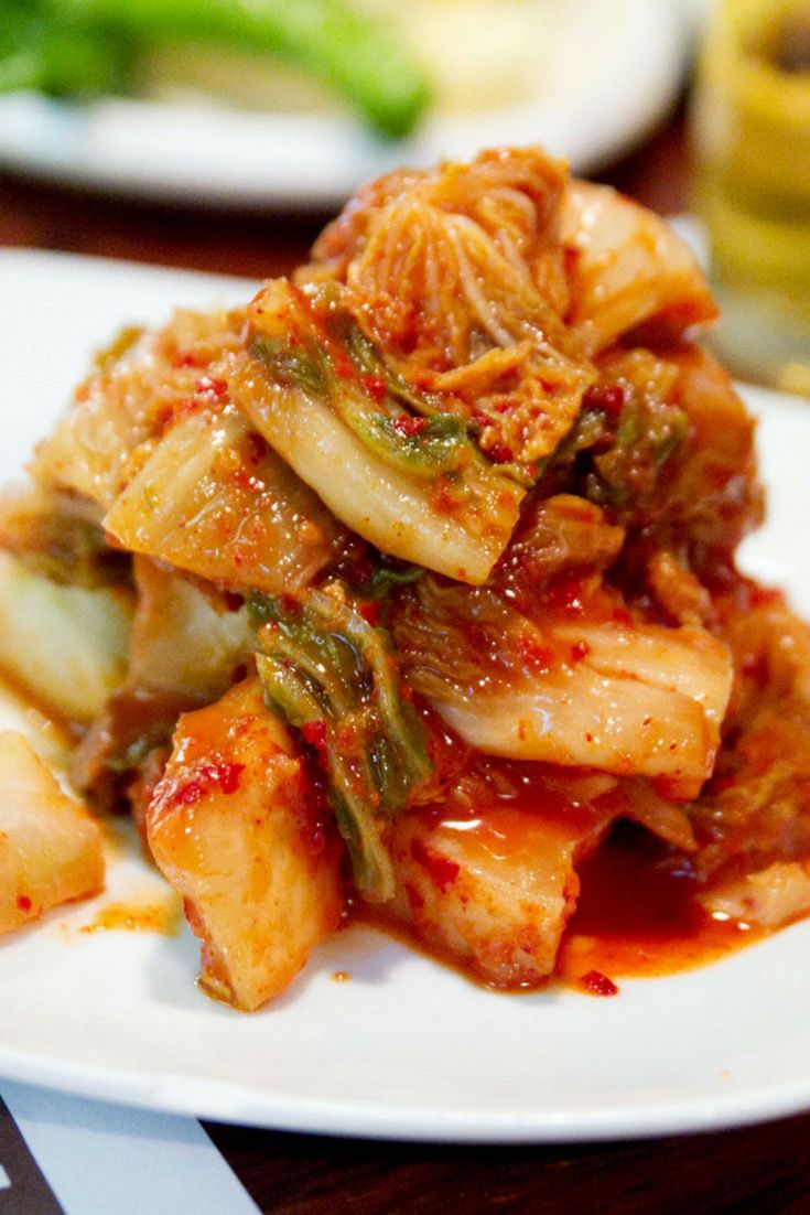 """Korean cuisine offers a whole range of dishes that incorporate kimchi and its brining liquid (sometimes referred to as its """"juice""""), including soups, stews, noodles, and savory pancakes. But don't feel boxed in by its origins, because kimchi's tangy, spicy, and savory notes can go with almost anything."""