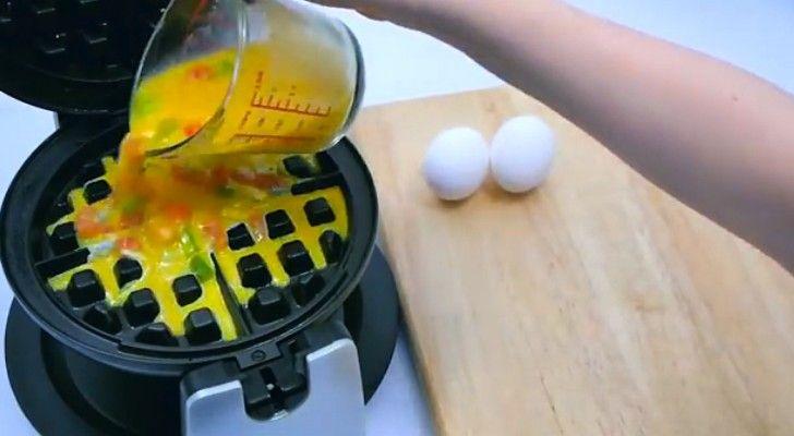 Wie zegt dat een wafelijzer alleen is bedoeld voor het bakken van wafels? Deze video laat je zien hoe veelzijdig je wafelijzer kan zijn. Of je nu trek hebt in iets zoets of iets hartigs, …