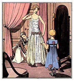 1920s Robe de Style: The Anti Flapper Dress
