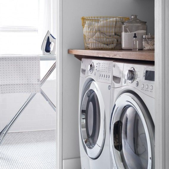 Let's face it. If  you had to hand wash everything, you'd have pruned hands for life. The better way to get all all your cleaning done? Head to the laundry room