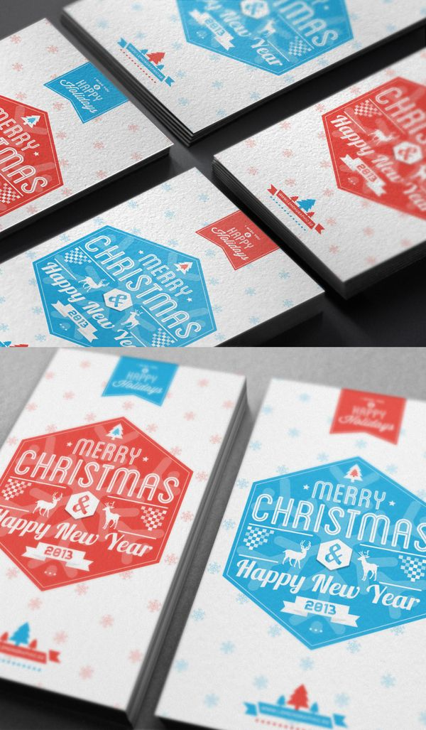 Typography Merry Christmas Card 2013 wish you a Happy new year! – Lemon Graphic | Singapore business card, graphic design, designer, information design
