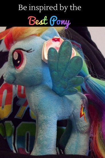 Rainbow Dash Is The Best Pegasus Pony Her Rainbow Colors Inspire Me