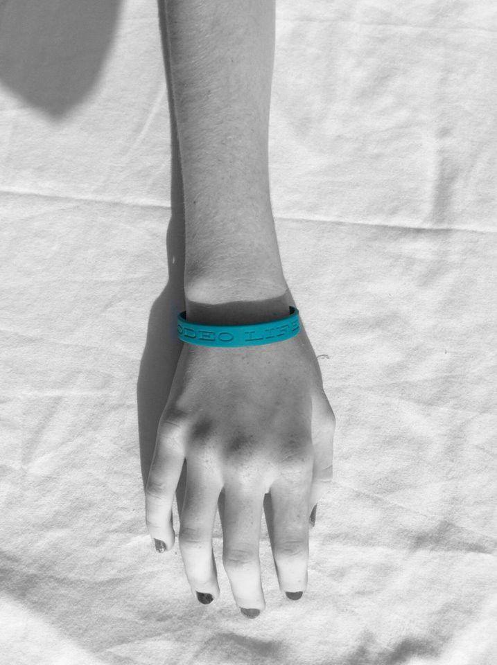 Turquoise Rodeo Life Wristband