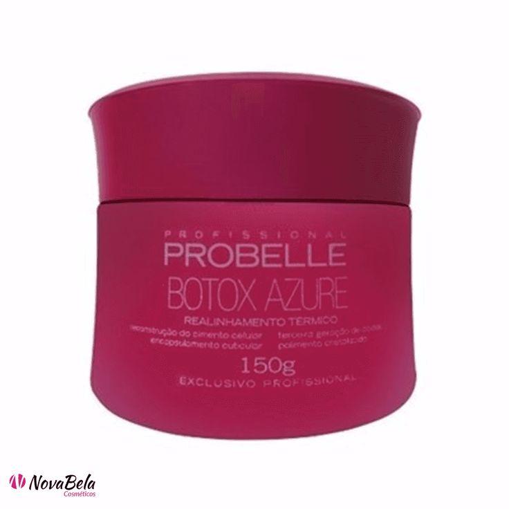 Probelle Mini Botox Realinhamento Térmico Azure 150g - www.novabela.com.br