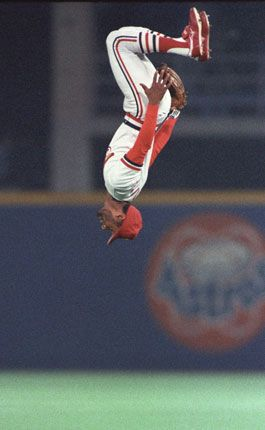 Ozzie Smith aka the Wizard, Baseball Hall of Famer