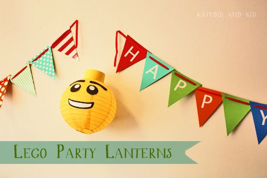 Katydid and Kid: Lego Party Lanterns Kidfolio - the app for parents - kidfol.io